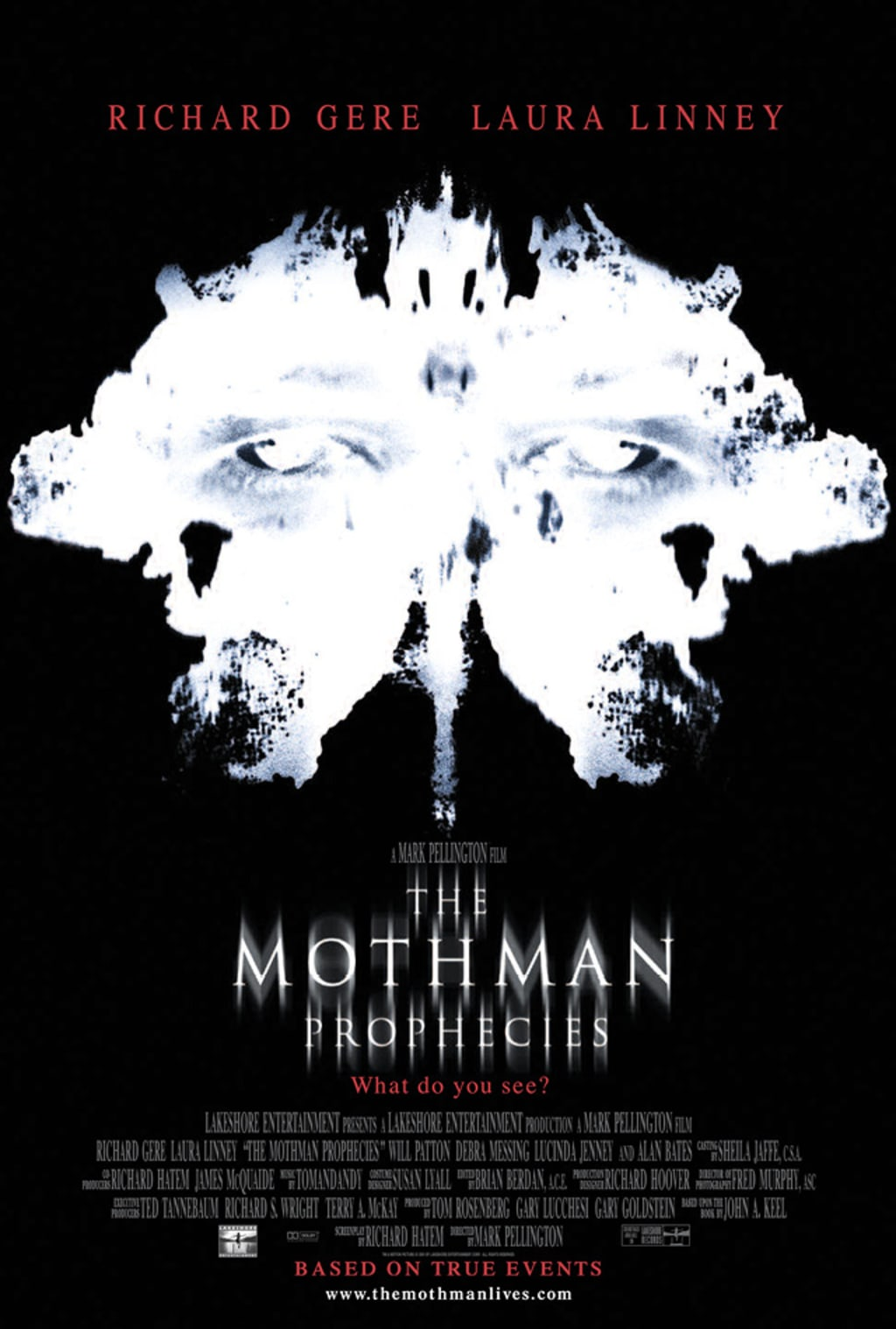 Reed Alexander's Horror Review of 'The Mothman Prophecies' (2002)