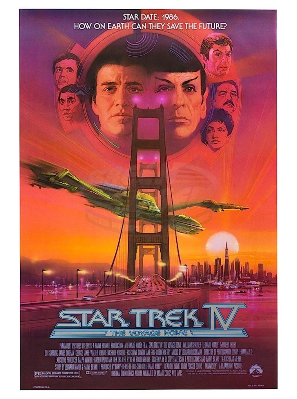 Top Five Star Trek Movie Denouements