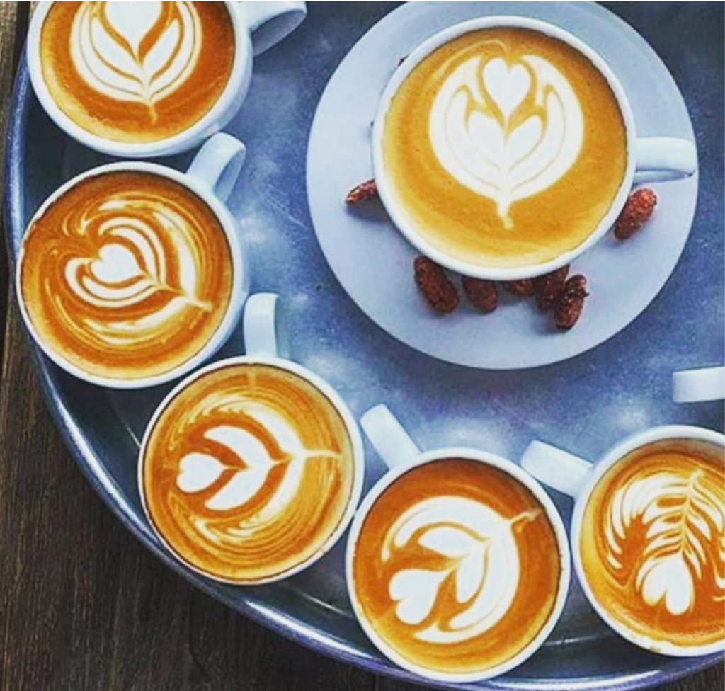 Around the Coffee in Five Countries