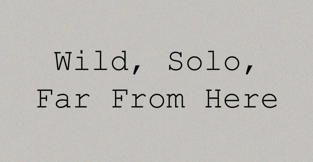 Wild, Solo, Far from Here