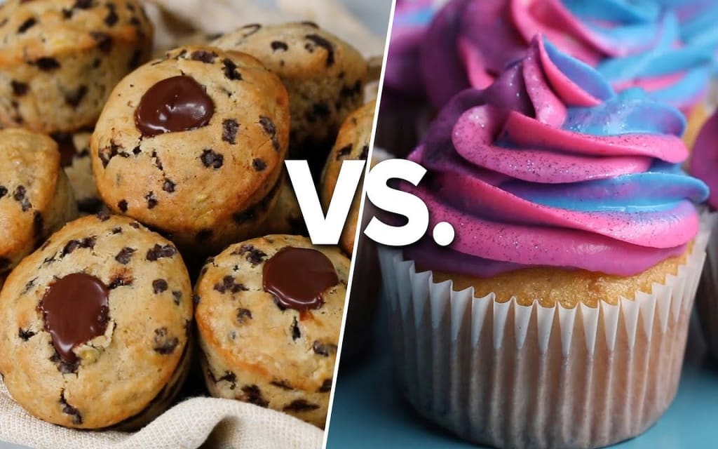 Differences Between Cupcakes and Muffins