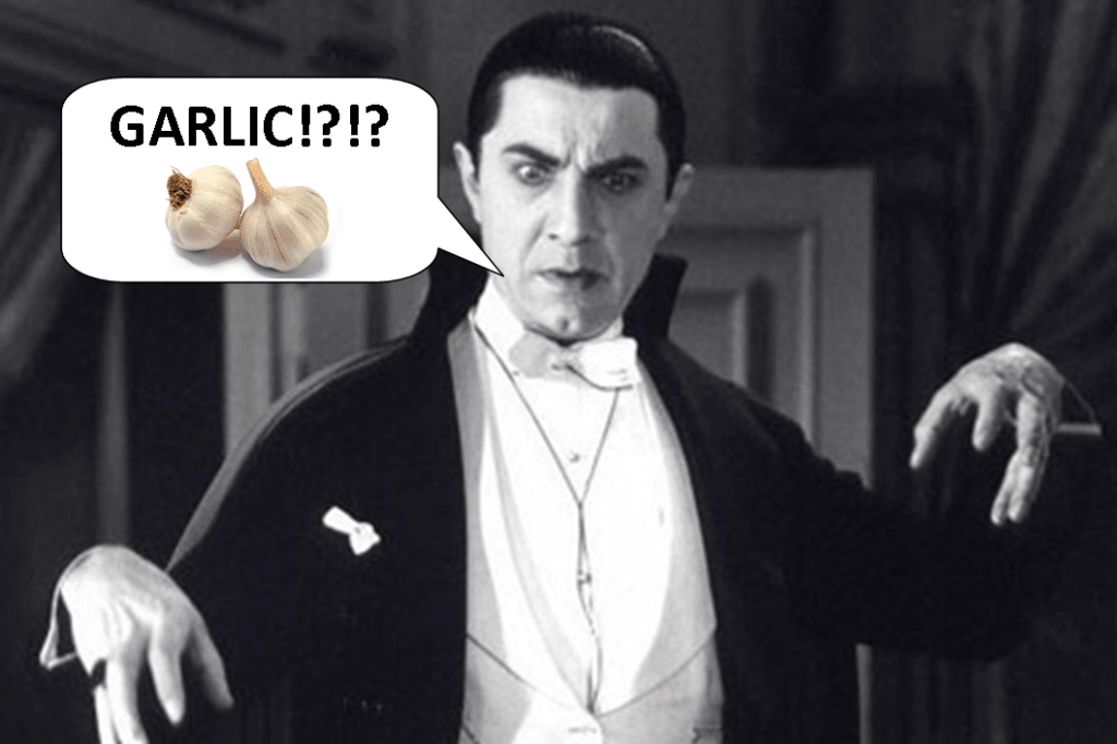Four Theories About Why Vampires Hate Garlic