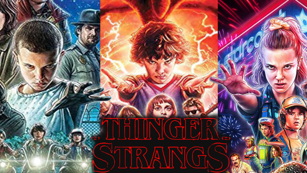 Thinger Strangs 3: The More Things Strange, the More They Stay the Same