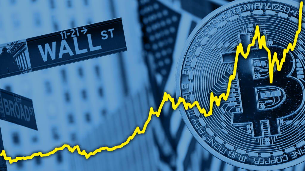 wall street investing cryptocurrency