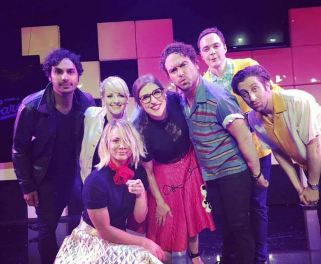 Kaley Cuoco Strips Down When Performing Grease With Big Bang Theory Cast