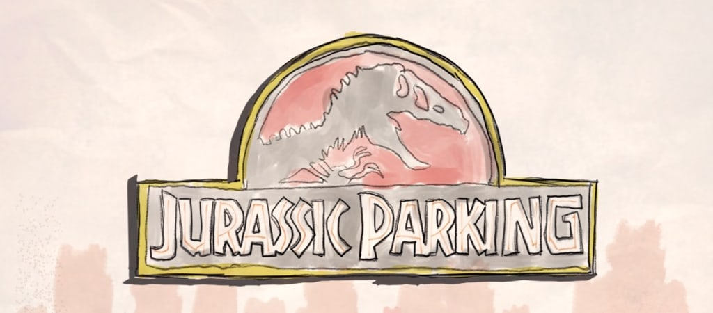 'Jurassic Parking', 'The Thinging': Artist Draws Movie Posters for 4 Famous Films with a Twist in Their Titles