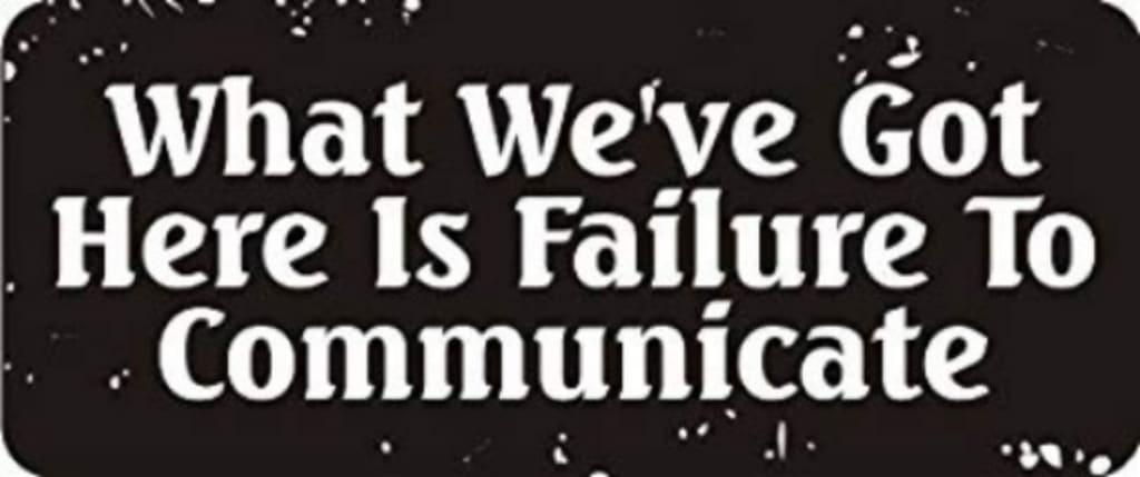 "Why I Stopped ""Communicating"""