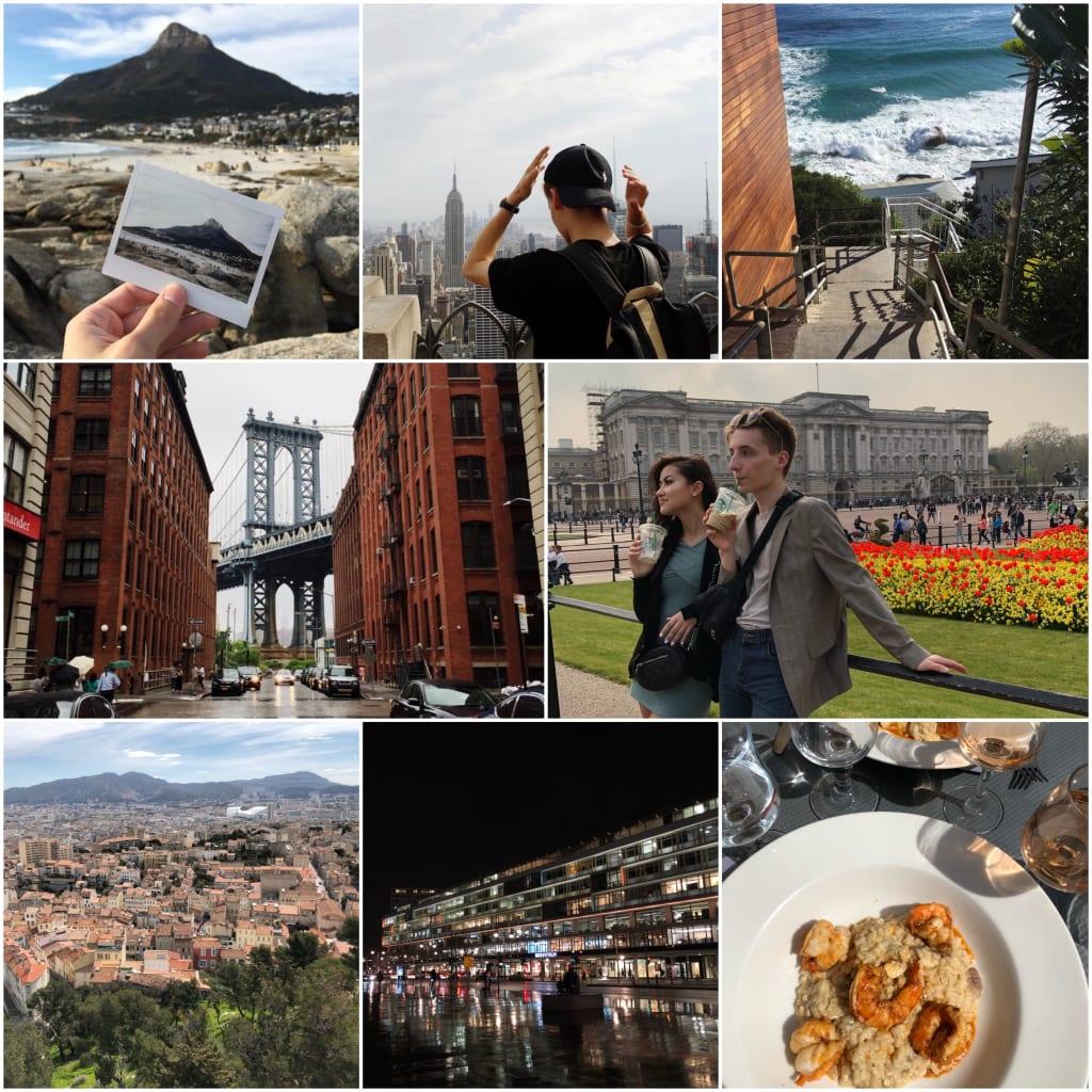Top Five Travel Destinations