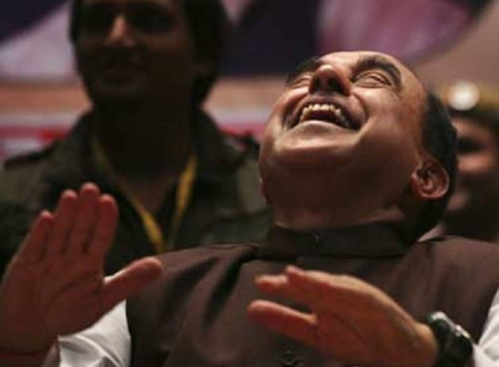 Advised by Terrence Malick, Subramanian Swamy petitions 'Beep Song' to be heralded as the 'Song of the Year'