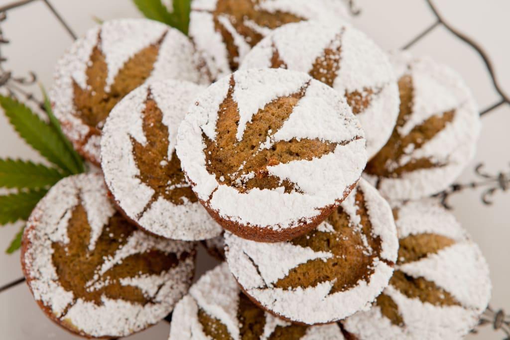 How to Make Salted Caramel Marijuana Muffins