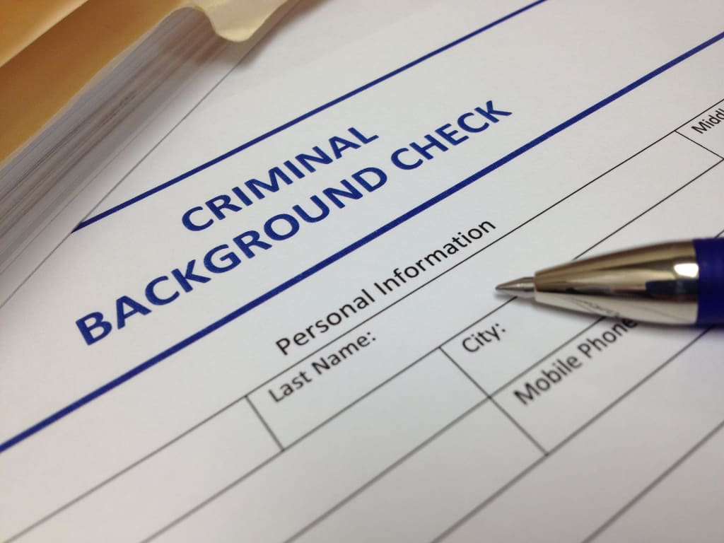 What Shows Up on a Background Check?