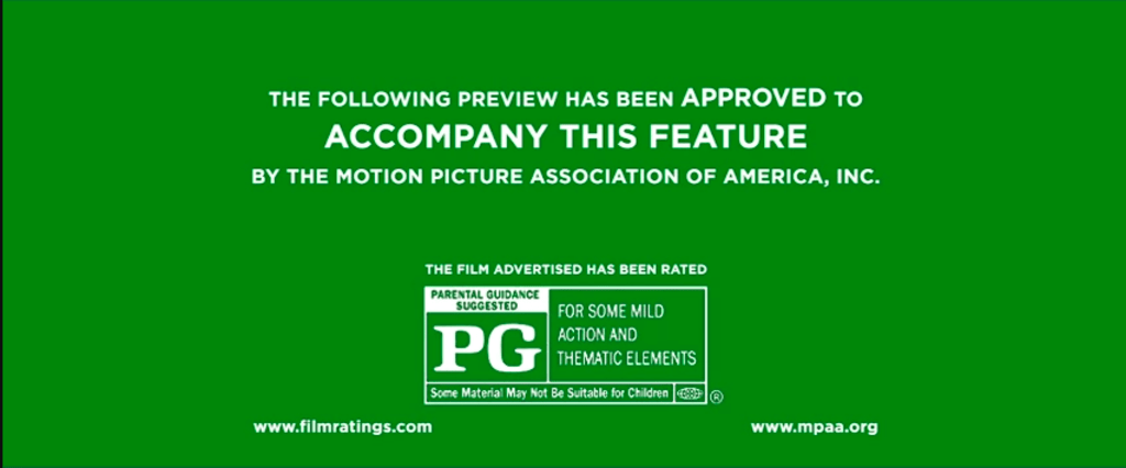 Why the MPAA's Rating System Is Almost Pointless