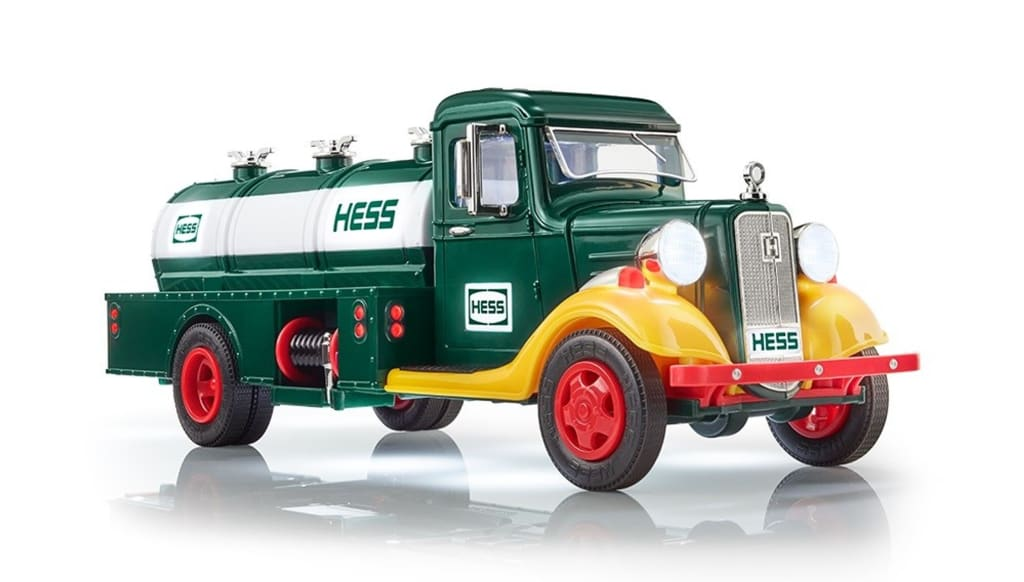 The History of the Christmas Hess Truck