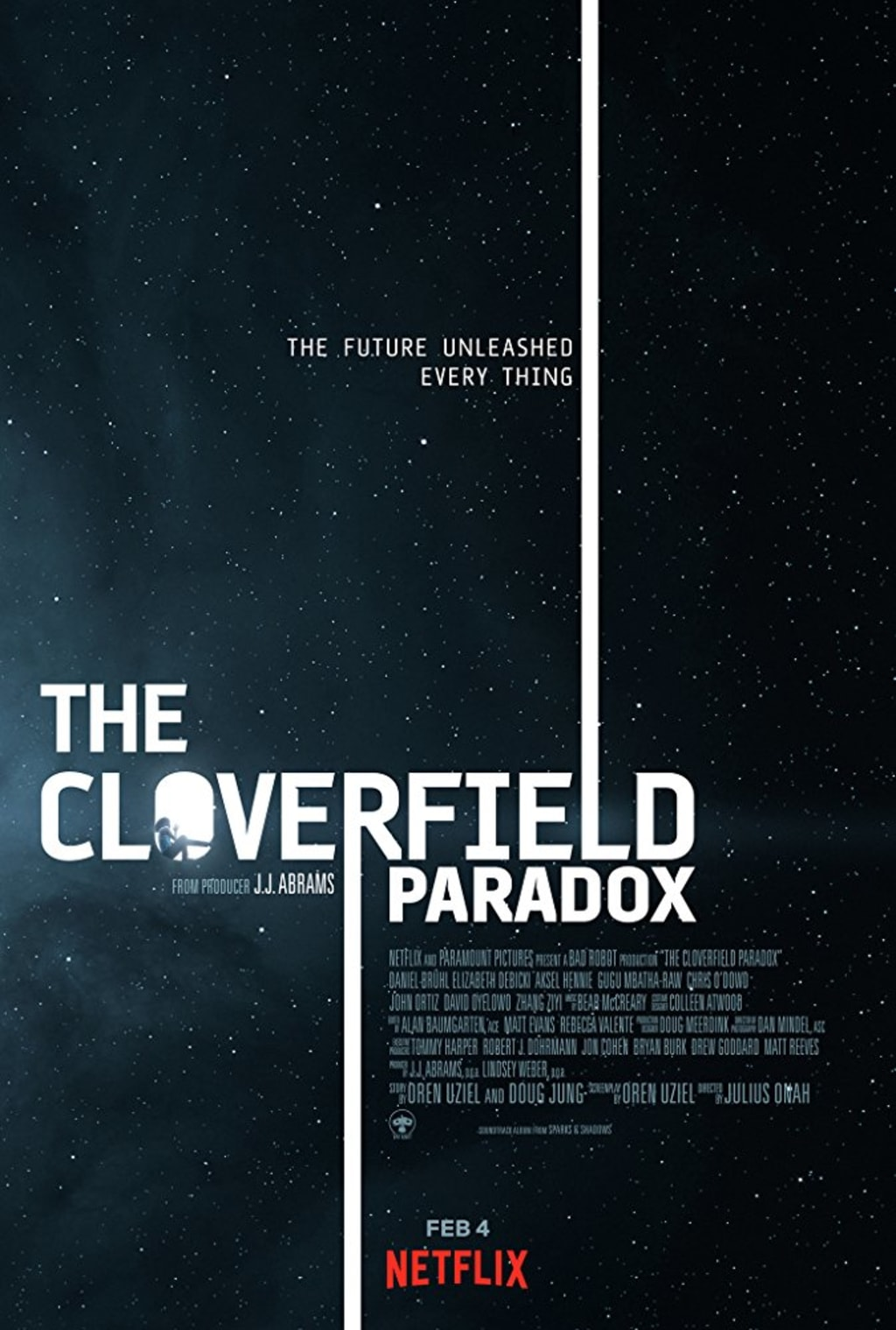 Reed Alexander's Horror Review of 'The Cloverfield Paradox (2018)'