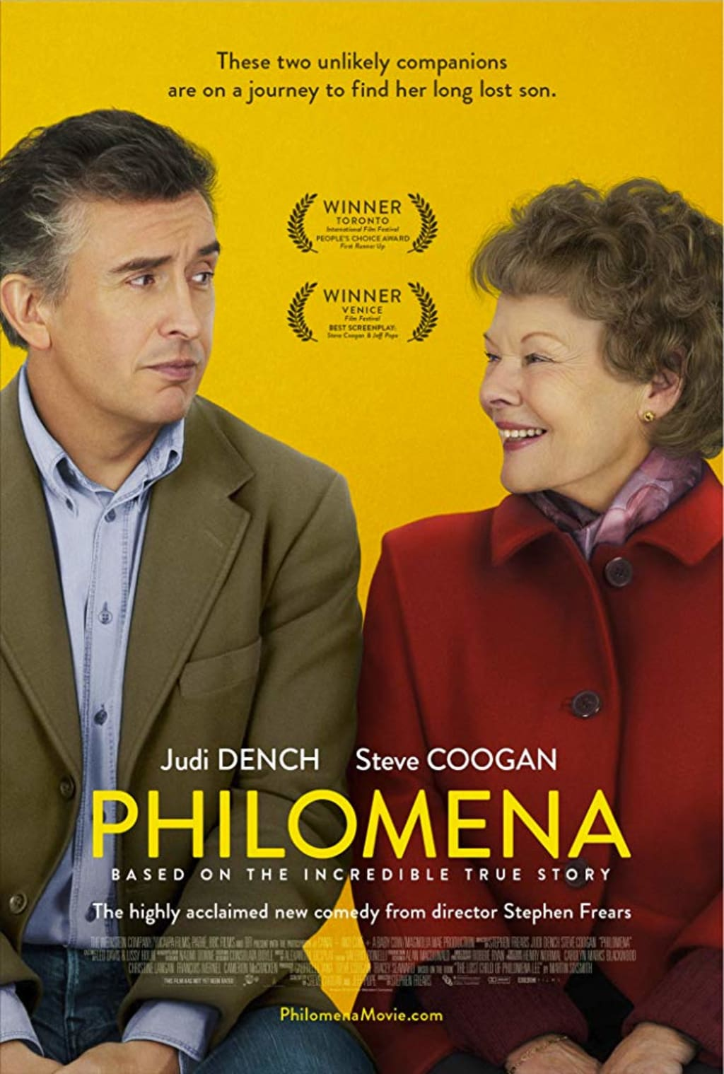 'Philomena' Shows the Way for a Catholic Church that has Long Lost its Way