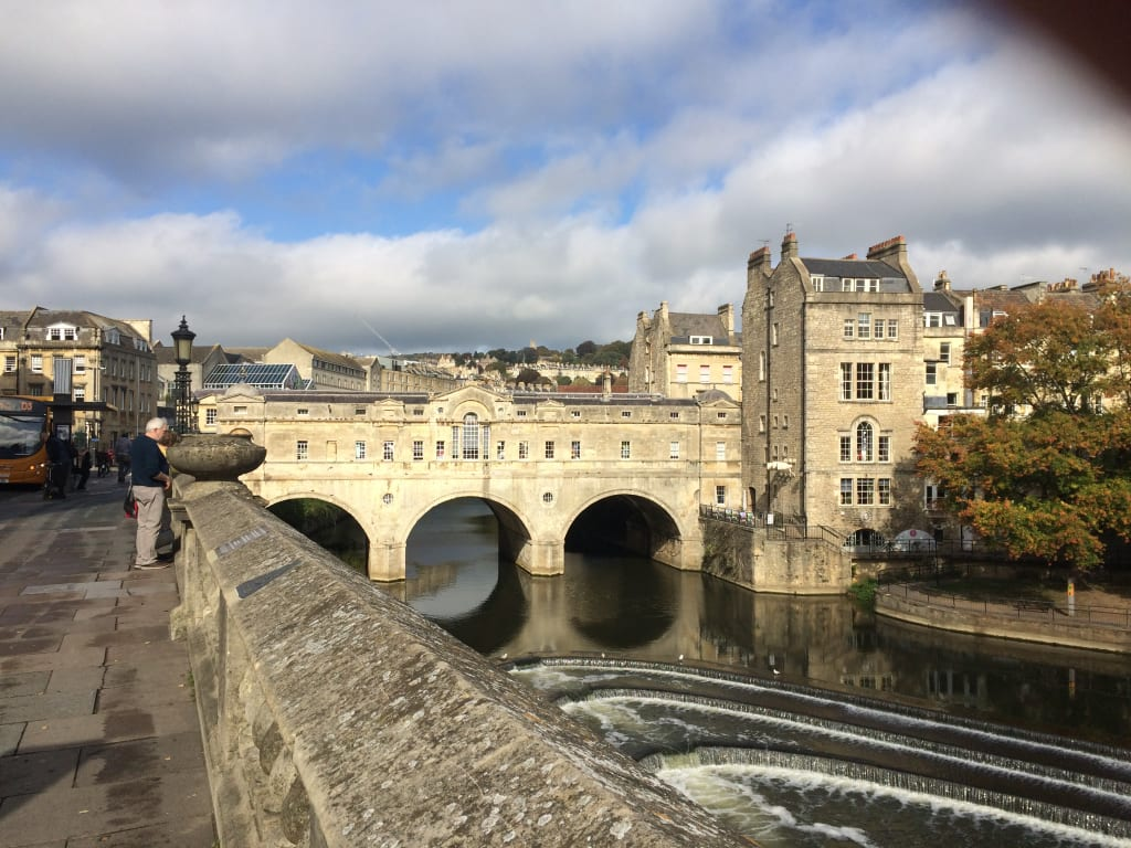 Image result for The Palladian Pulteney Bridge