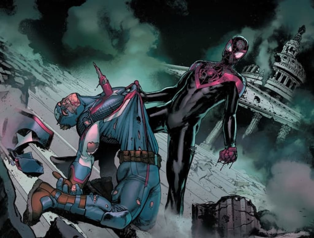 Miles Morales Trumps Captain America, Killing The Avenger In A Politically Symbolic Gesture From Marvel