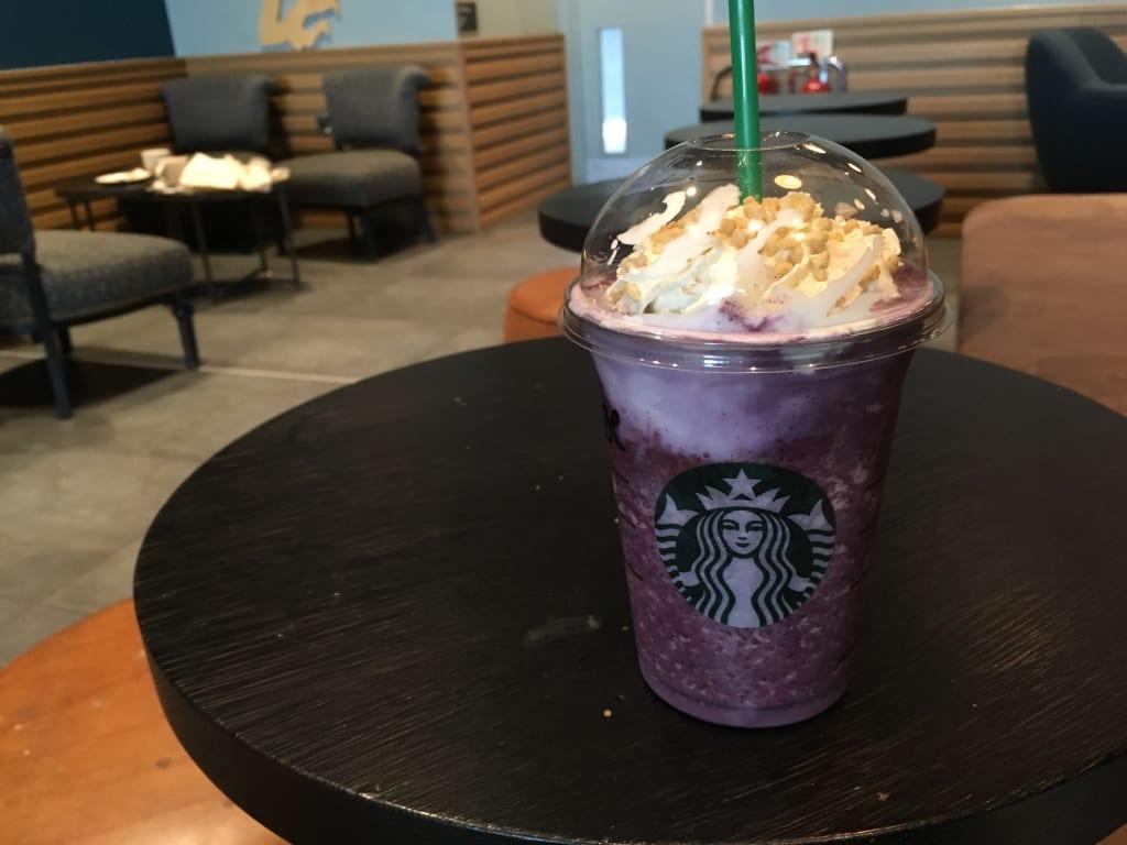 Starbucks' Blueberry Cheesecake Frappuchino