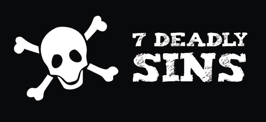 My Seven Deadly Sins