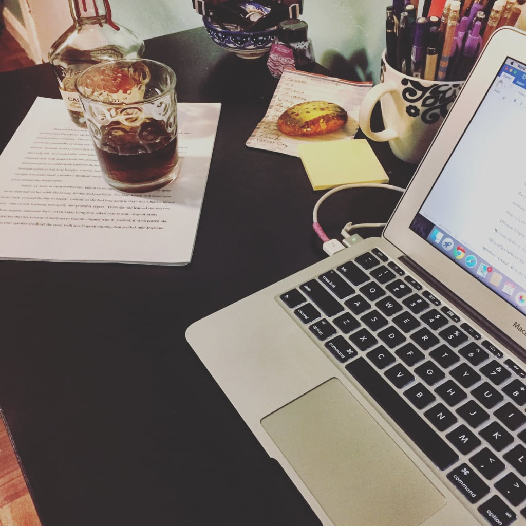 Writing and Onion Peels