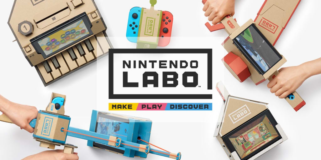 Get Out of My Nintendo Labo(ratory)!