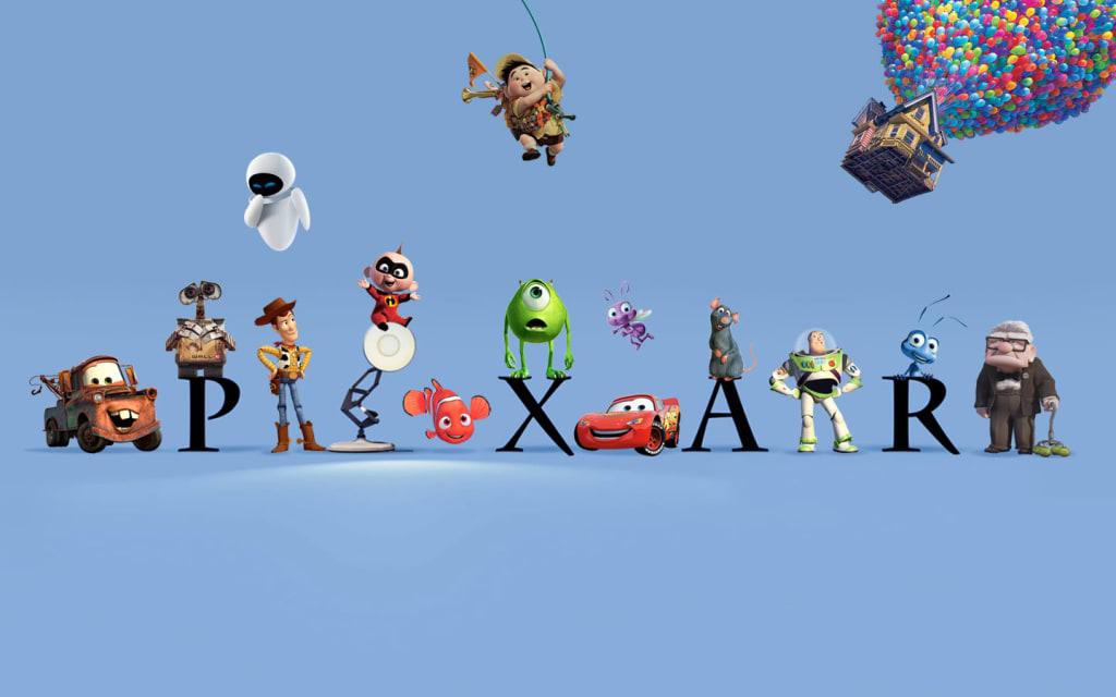 My Top Ten Pixar Films