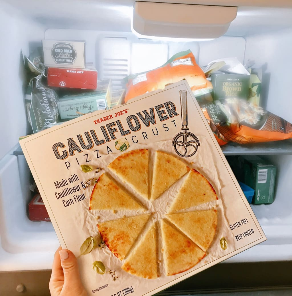 Trader Joe's Cauliflower Crust Pizza