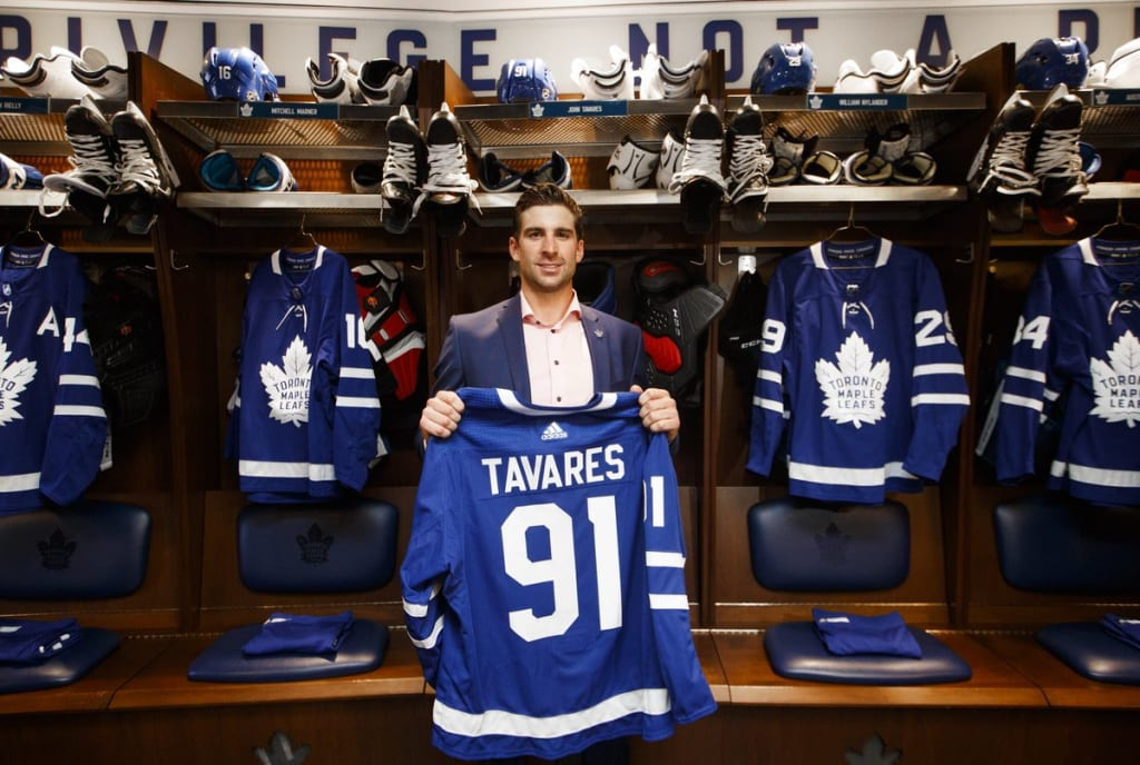 Finally Home: John Tavares and the Toronto Maple Leafs