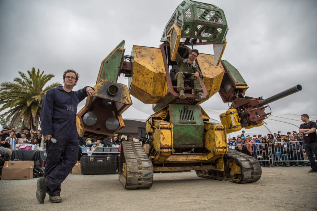 Giant Robot Fight! USA To Take On Japan This Month (Probably)