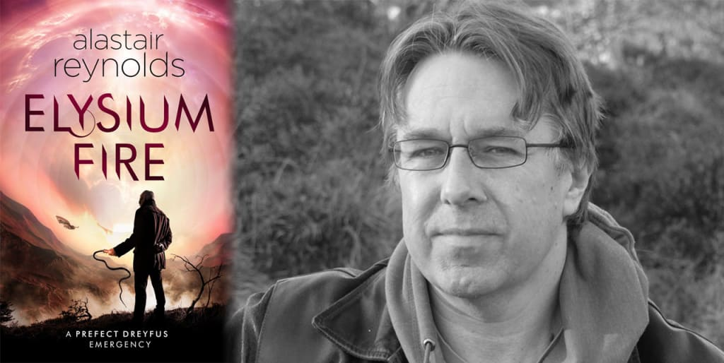 An Interview with Best-Selling Science Fiction Author Alastair Reynolds