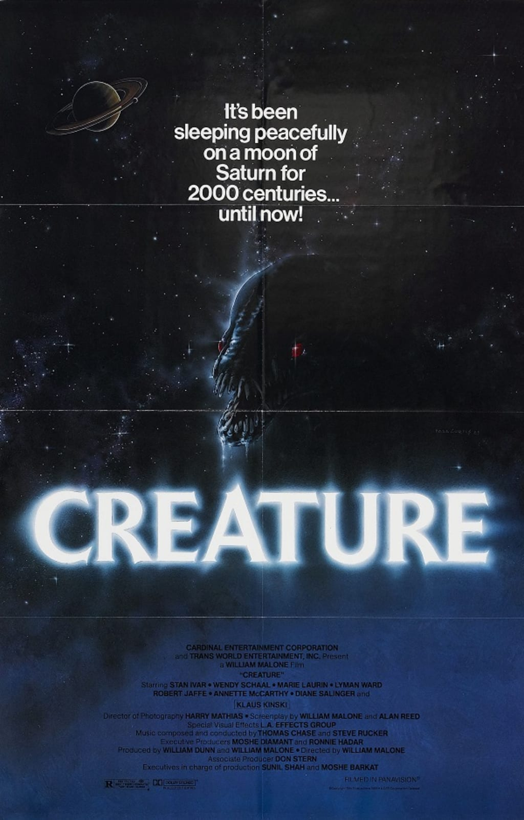 Reed Alexander's Horror Review of 'Creature' (1985)