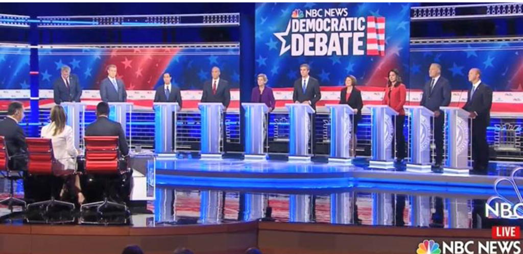 First Democratic Presidential Debate, Part 1 of 2