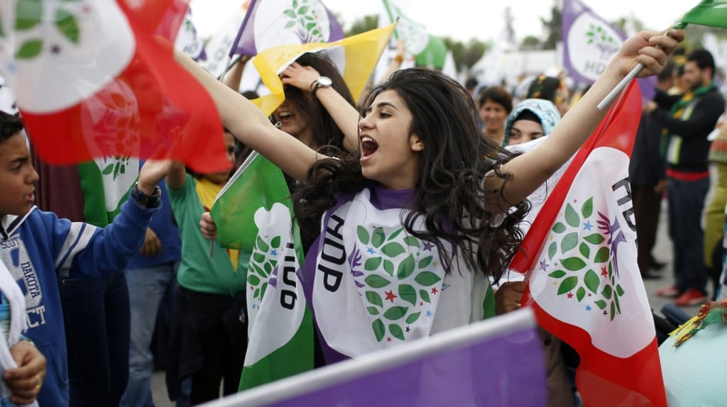 The Rising Power of the Turkish Kurds