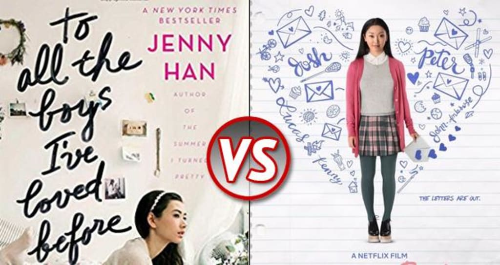 Movie vs Book: 'To All The Boys I've Loved Before'