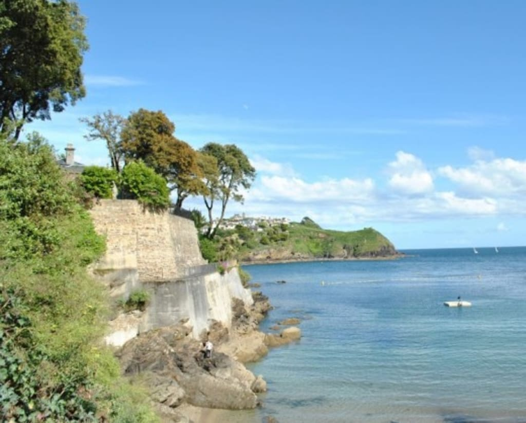 Readymoney Beach and Fowey