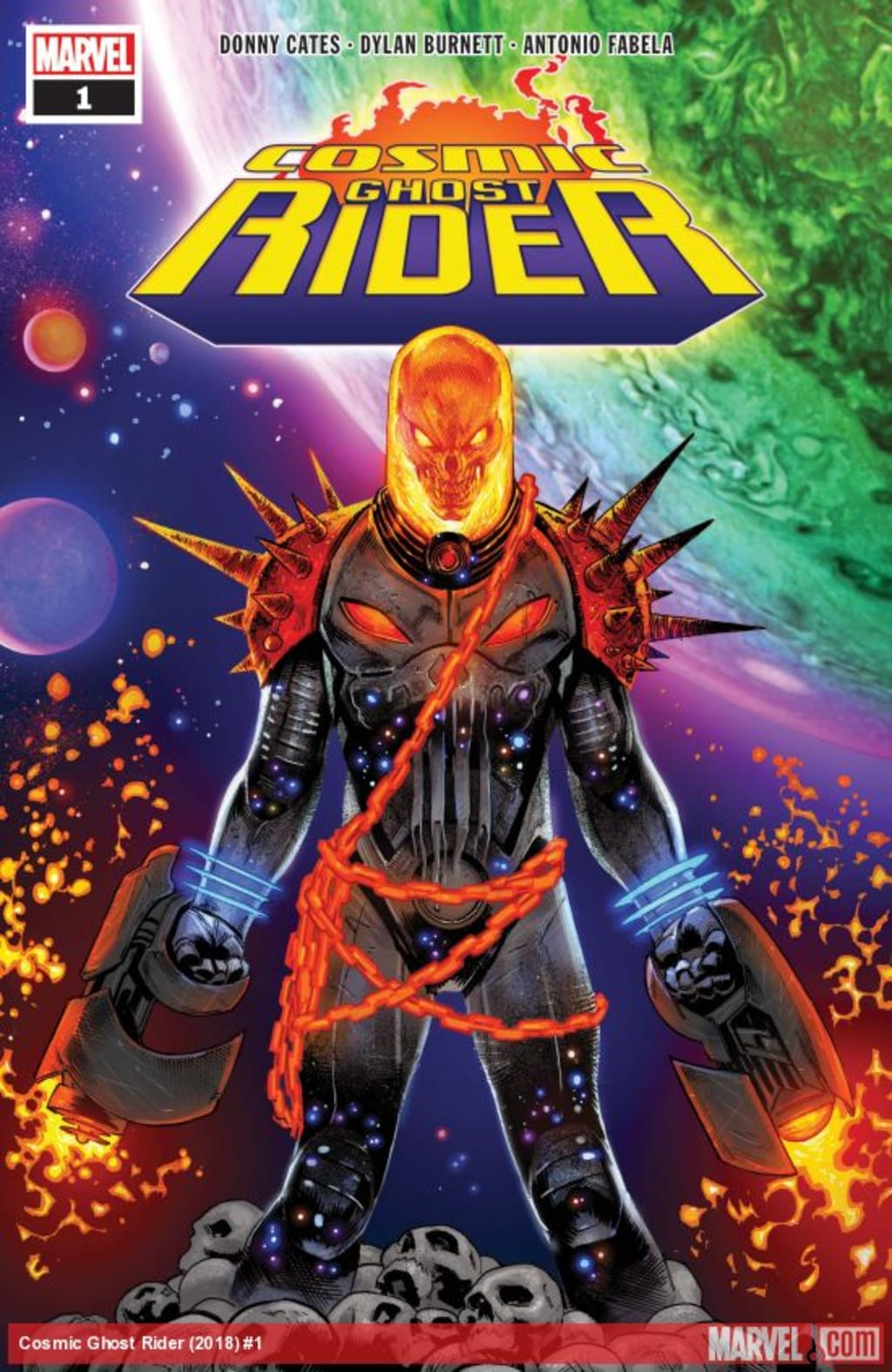 Review: 'Cosmic Ghost Rider #1'
