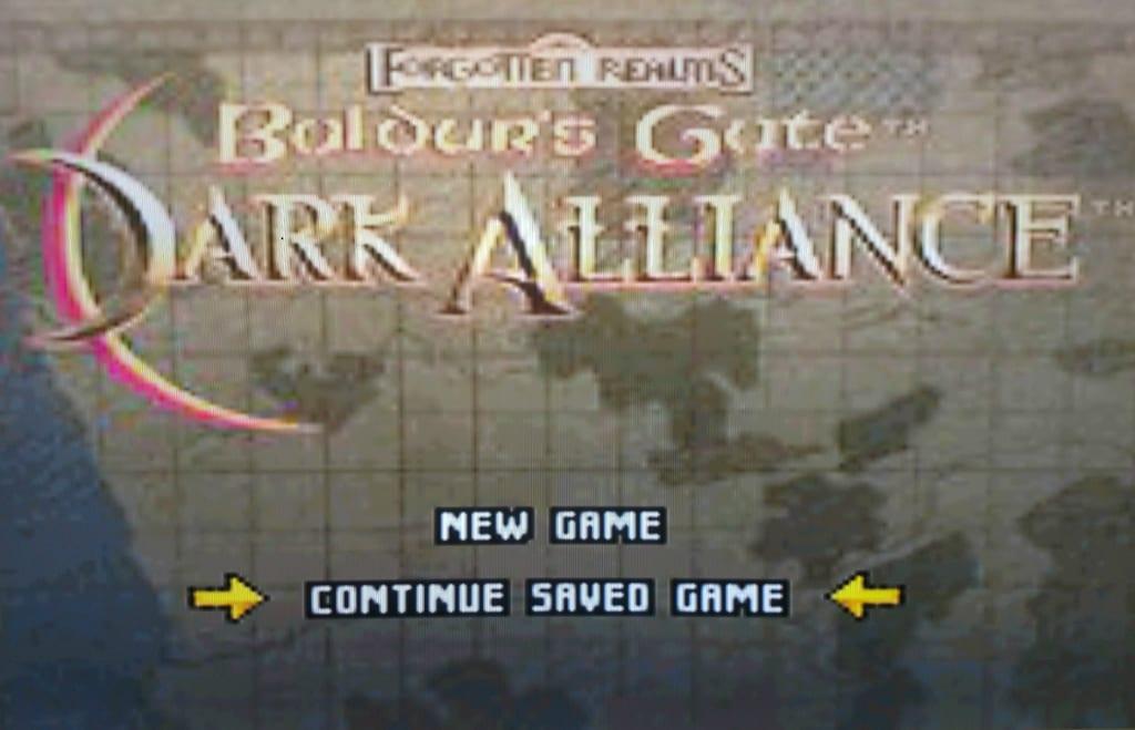 'Baldur's Gate: Dark Alliance'