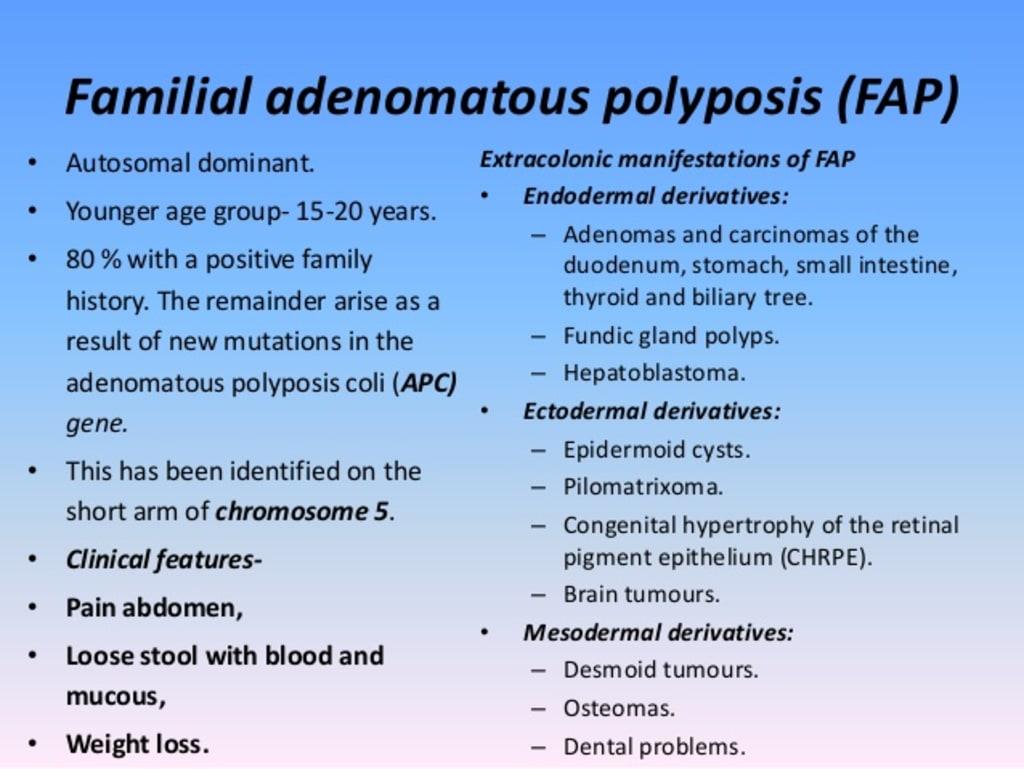 Familial Adenomatous Polyposis