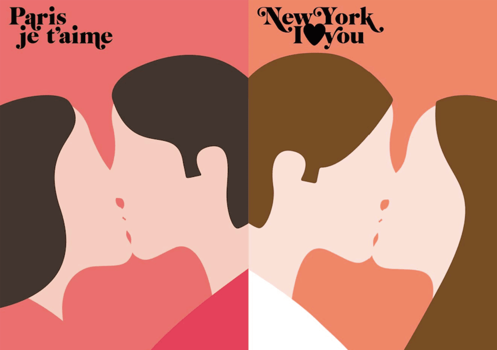 The Art of Dating: Paris vs. New York
