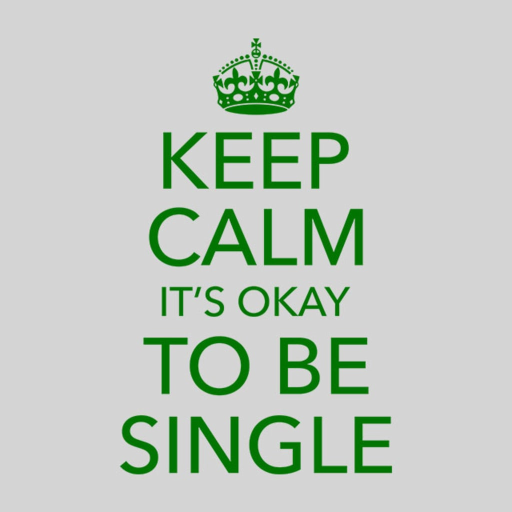 Yes, I'm Single and No I'm Not a Man Hater