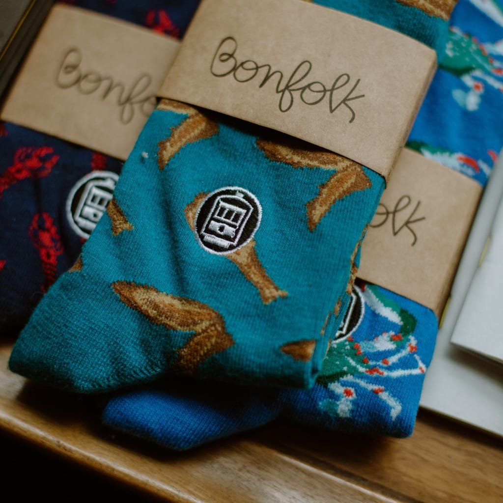 Marketing Socks for Good from the Big Easy