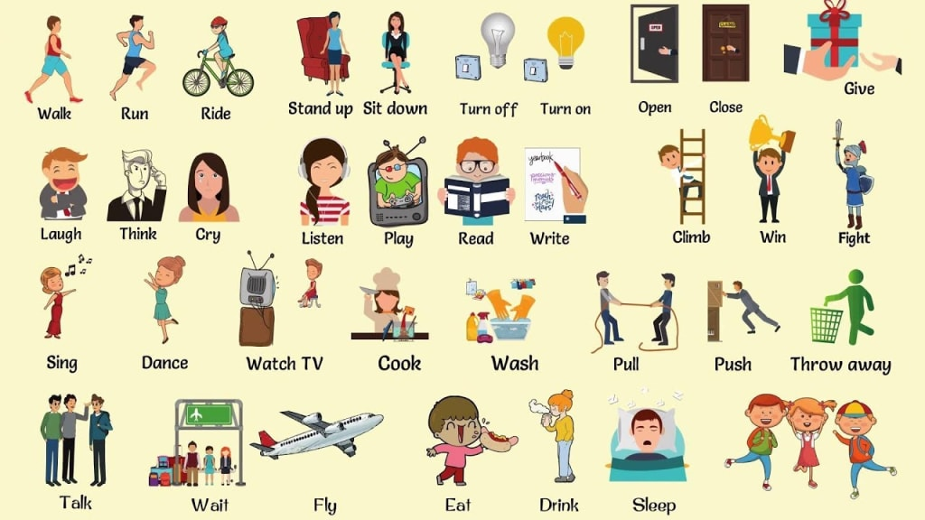 An Introduction to Action Verbs