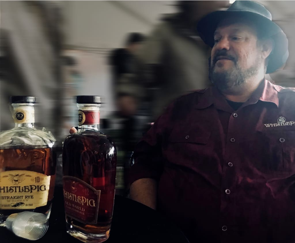 Distiller Extraordinaire Dave Pickerell