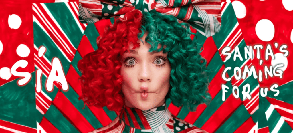 "Sia Posts Nude Shot, Says ""Everyday Is Christmas"""