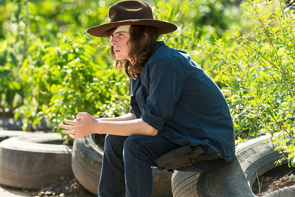 Batter Up: Chandler Riggs Teases Plenty Of Deaths In 'The Walking Dead' Season 8