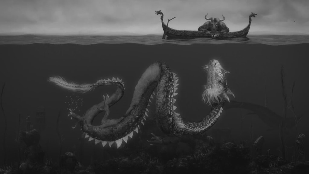 The Mighty Minotaur and the Sea Serpent