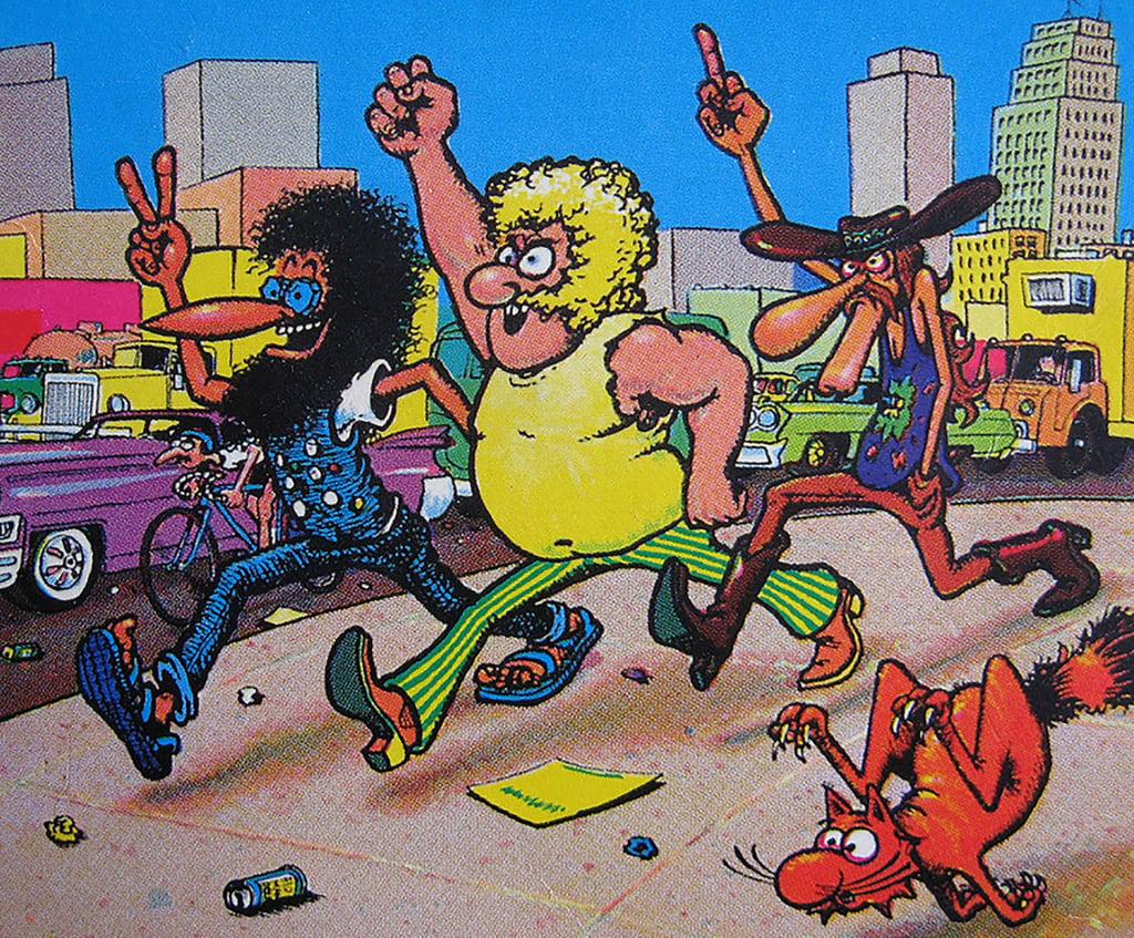 Underground Comix Artist Gilbert Shelton