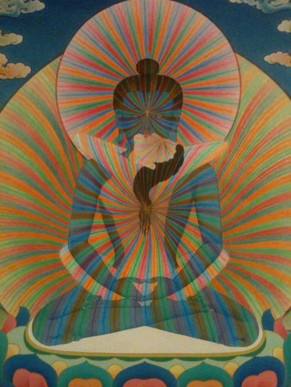 Tibetan Buddhist Rainbow Body