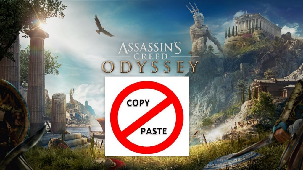'Assassin's Creed: Odyssey' and the Perils of Copy-and-Paste Syndrome