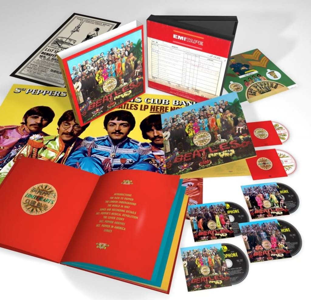 The Beatles' Sgt. Pepper Celebrates 50 Years of Veneration with Exquisite Box Set